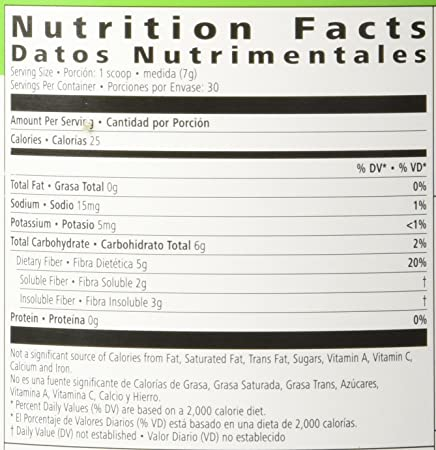 Amazon.com: Herbalife 2864 Active Fibre Complex, Apple Flavour 7.4 Oz: Health & Personal Care