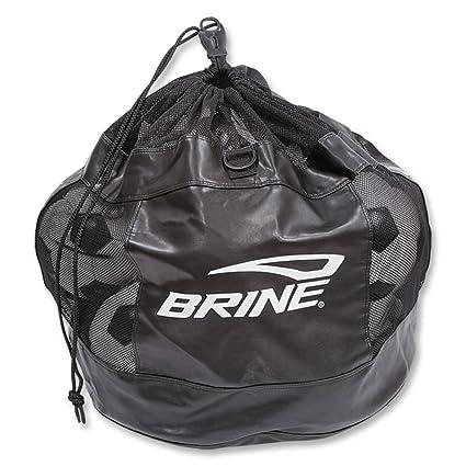 Amazon.com: Salmuera de fútbol bolsa para balones (Negro ...
