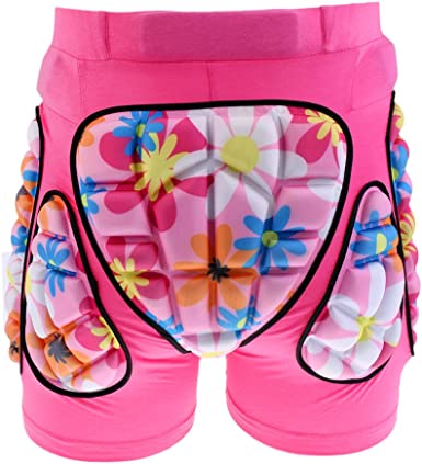 Skiing 3D Protection Pad Pants for Hip,Butt and Tailbone for Skateboarding Esquirla Unisex Kids Protective Shorts Skating Multi Sports Cycling