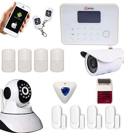 G6 - Alarma inalámbrica GSM y RTC con sirenas y Cameras IP ...