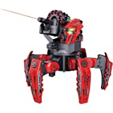 EMOB Dark Mars Spider Space Warrior Blaster Fighting Robot Remote Control toy with 2 in 1 Disc & Darts Launcher