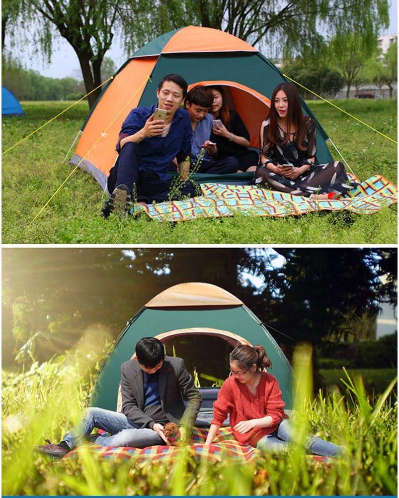 Tienda Emergente, Tienda De Playa Portátil con Protección UV para Jardín Familiar Camping Jardín Familiar Pesca Playa 3-4 Personas, 200 Cm X 200 Cm X 120 Cm D