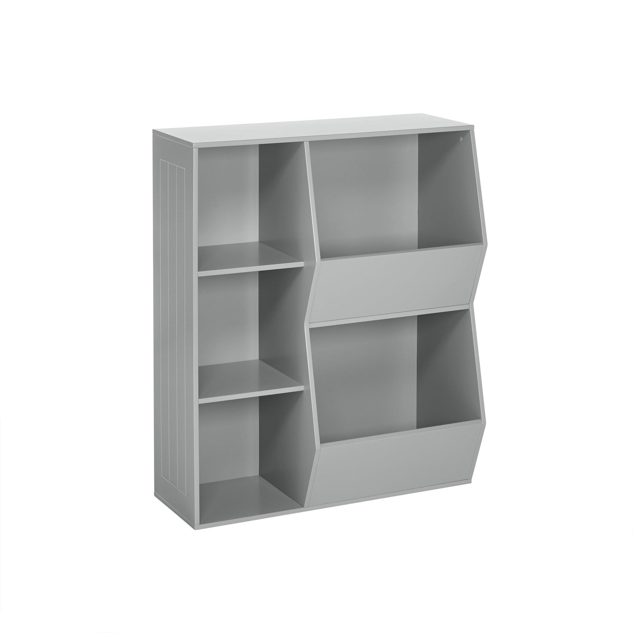 RiverRidge 02-147 2-Veggie Bin Kids Floor Cabinet, Gray by RiverRidge Home