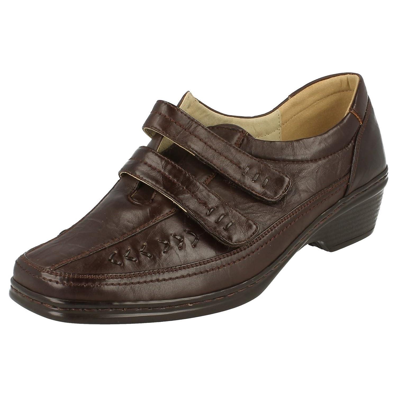 sendit4me Brown Low Wedge Court Shoes  Brown