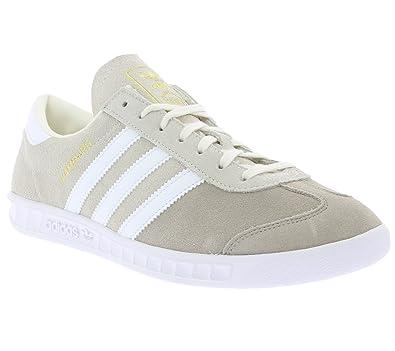 adidas Originals Hamburg Mens Sneaker Gris S76695, Taille:46 2/3