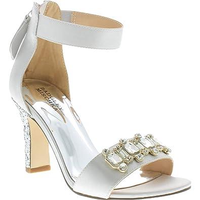 21c01e45452a4 Amazon.com | Badgley Mischka Kids' Kendall Gliterati Pump | Shoes