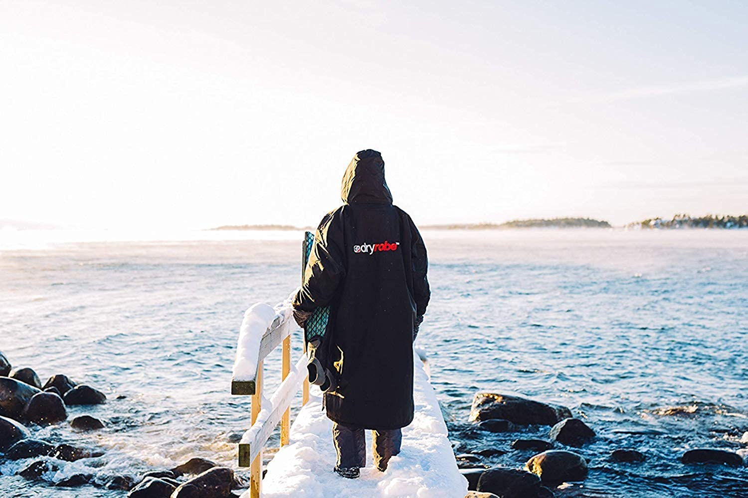 Dryrobe Advance LONG SLEEVE Change Robe Windproof Waterproof Oversized Poncho Coat Stay Warm and Dry Swimming//Surfing//OCR Events
