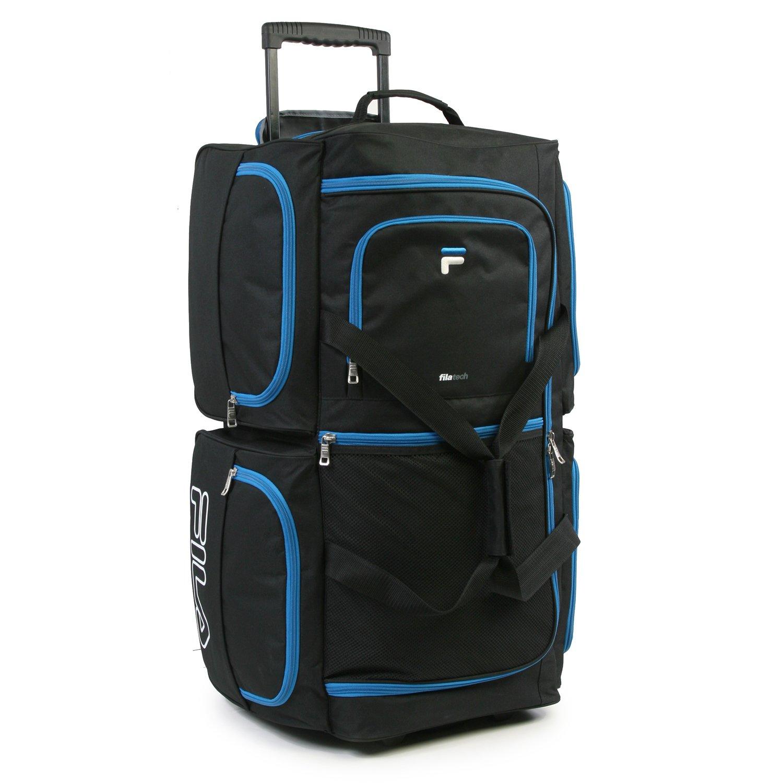 Luggage 30'' 7 Pocket Large Rolling Duffel Bag by Fila (Image #3)