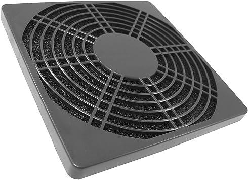 AABCOOLING Filtro de Plástico 80 Negro- cubierta del ventilador ...