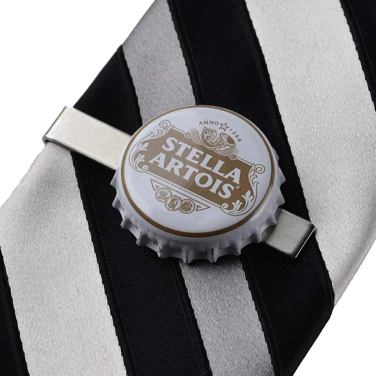 Quality Handcrafts Guaranteed Stella Artois Bottle Cap Tie Clip