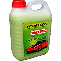 Waxpol Ecosaver Car Shampoo Concentrate - 2.5 L (for Bucket, Foam & Snow Foam Wash)