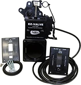 "Valterra E1003VP EZ Valve 3"" Electric Waste Valve System"