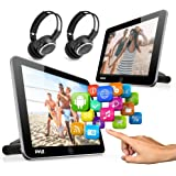 Android Car Monitor Headrest Touchscreen - Car Entertainment System - 10.5 inch Dual Car Seat Mount Multimedia Player w…