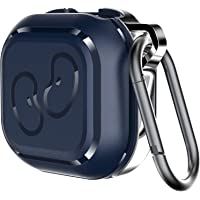 KINGRUNNING for Galaxy Buds Live Case Cover, 2020 Full Protection Shockproof TPU and Alloy Case with Carabiner…