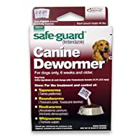 8in1 Safe Guard Canine Dewormer for Large Dogs, 4-Gram (Pack of 2)