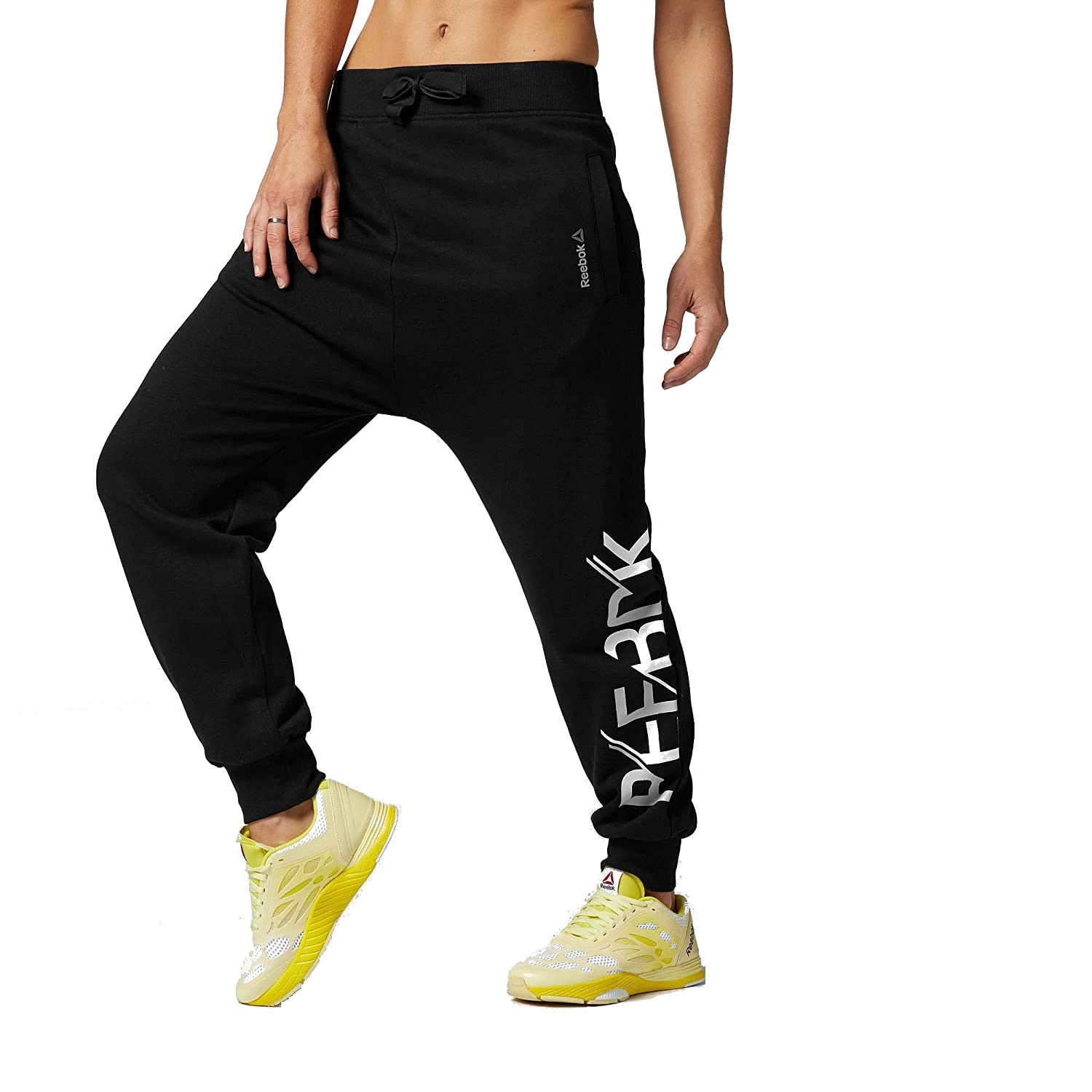 REEBOK Feel The Rhythm 2.0 Knit Pant Damen Tanzhose Fitness