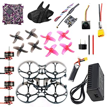 QWinOut DIY RC Drone Kit 75MM Frame Play F4 Whoop Flight ...