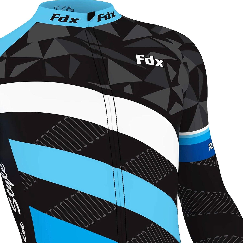 FDX Maillot de cyclisme thermique pour homme /édition limit/ée
