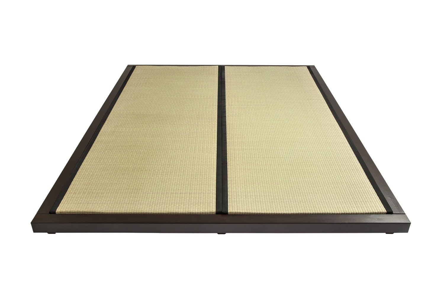 dock bed frame with tatami mats oriental style low level bed choice of sizes - Tatami Bed