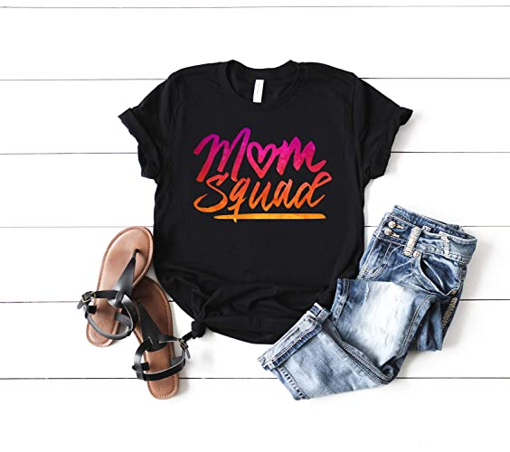 Amazon Mom Squad Shirt Crew Tribe To Be