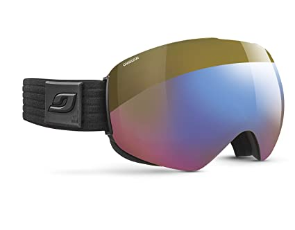 9a66dfb599 Julbo Skydome Photochromic Snow Goggles Lightweight with Ultra Wide  Panoramic Lens - Cameleon - Black