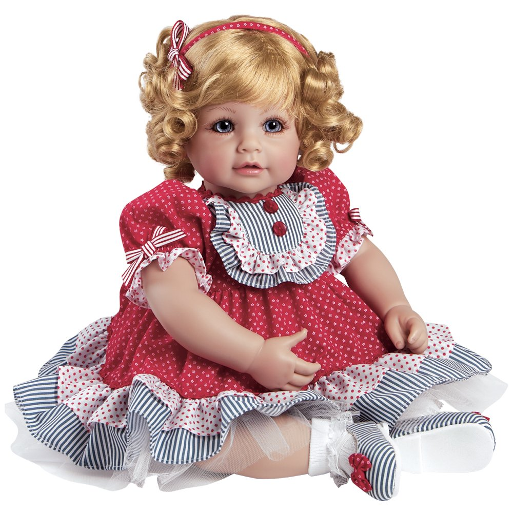 Adora Toddler Dream Boat 20'' Girl Weighted Doll Gift Set for Children 6+ Huggable Vinyl Cuddly Snuggle Soft Body Toy by Adora