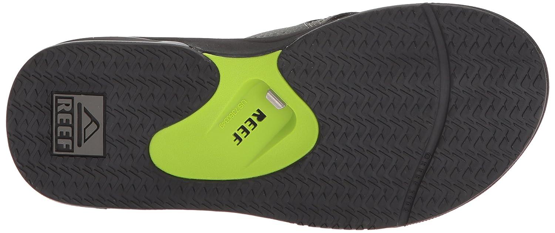 Reef Fanning, Herren Zehentrenner, Mehrfarbig Bkg) (schwarz/Grün Bkg) Mehrfarbig a5bd6e