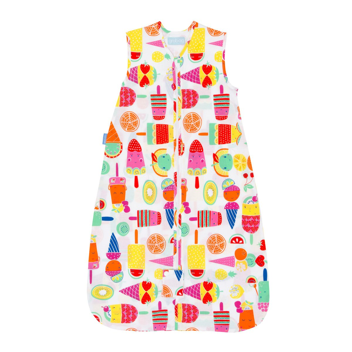 Grobag Travel Baby Sleeping Bag - Fruit Cocktail 0.5 Tog (18-36 Months)