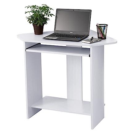 Astonishing Amazon Com Fineboard Home Office Compact Corner Desk White Interior Design Ideas Gresisoteloinfo