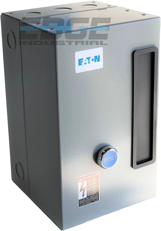EATON A27CGF30C024 MAGNETIC MOTOR STARTER 15 HP 3 PHASE 460 VOLT 30 AMP DEFINITE PURPOSE STARTER CONTROL