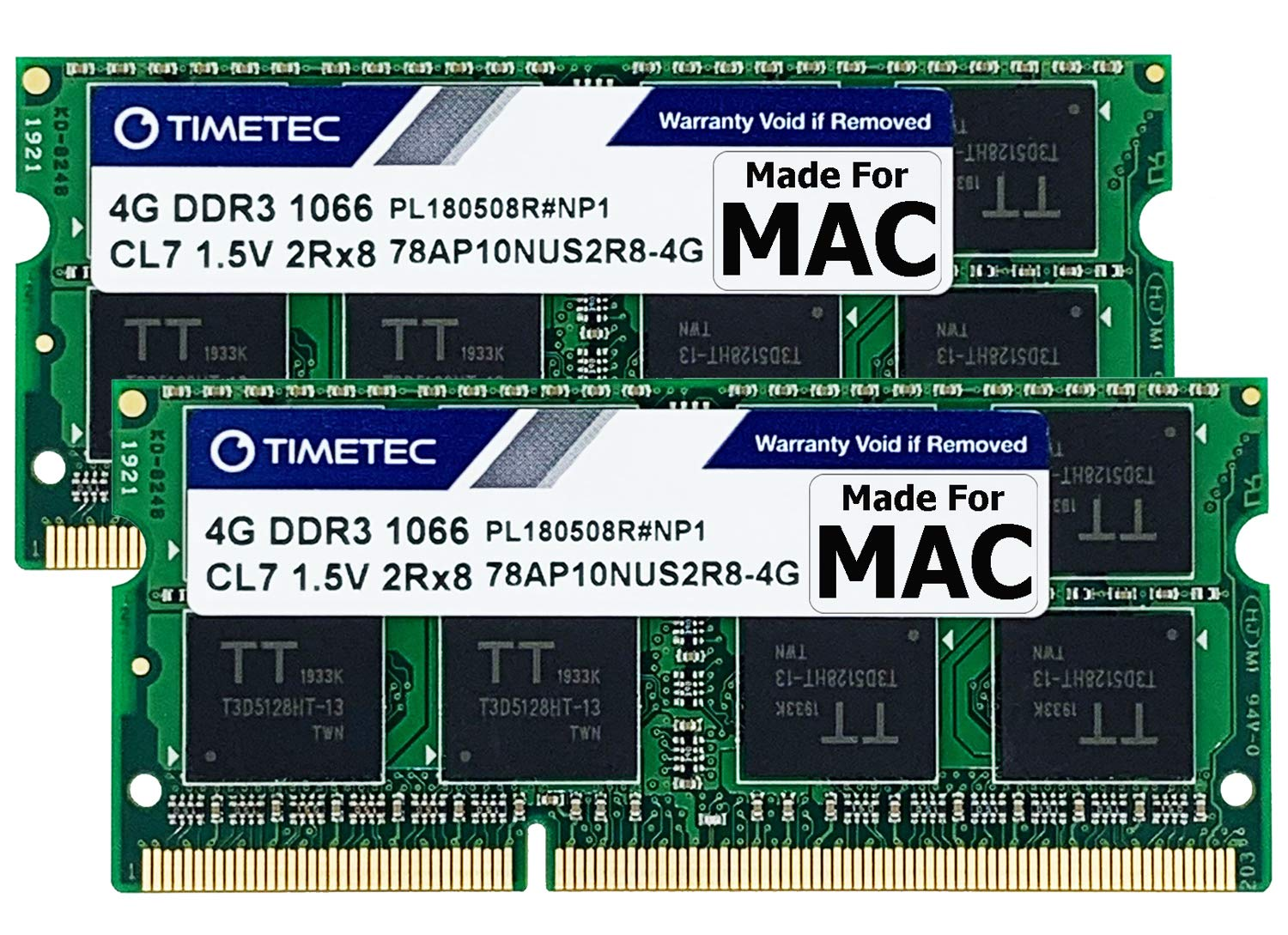 USA 8GB 2x4GB RAM DDR3 PC3-8500 1066Mhz Memory For iMac 20-inch, Early 2009