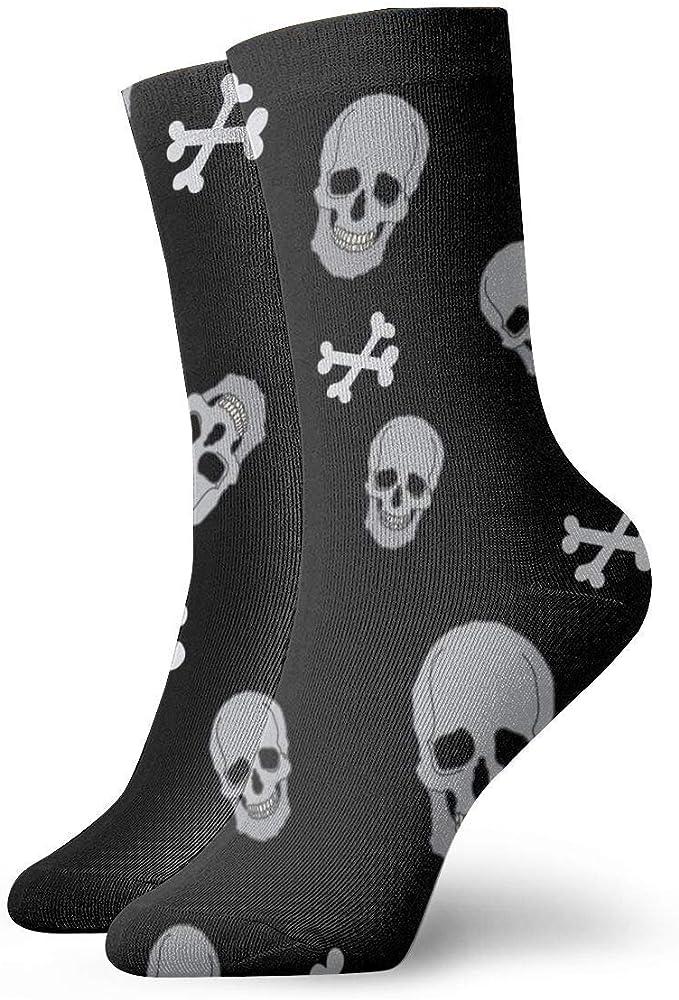 tyui7 Calcetines deportivos transpirables para hombre y para mujer Calcetines calaveras de poliéster divertidos Smile Smile 30 cm (11.8 pulgadas): Amazon.es: Ropa y accesorios