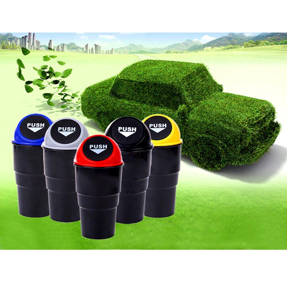 Mini poubelle en plastique pour voiture poubelle portable de voyage Mitefu