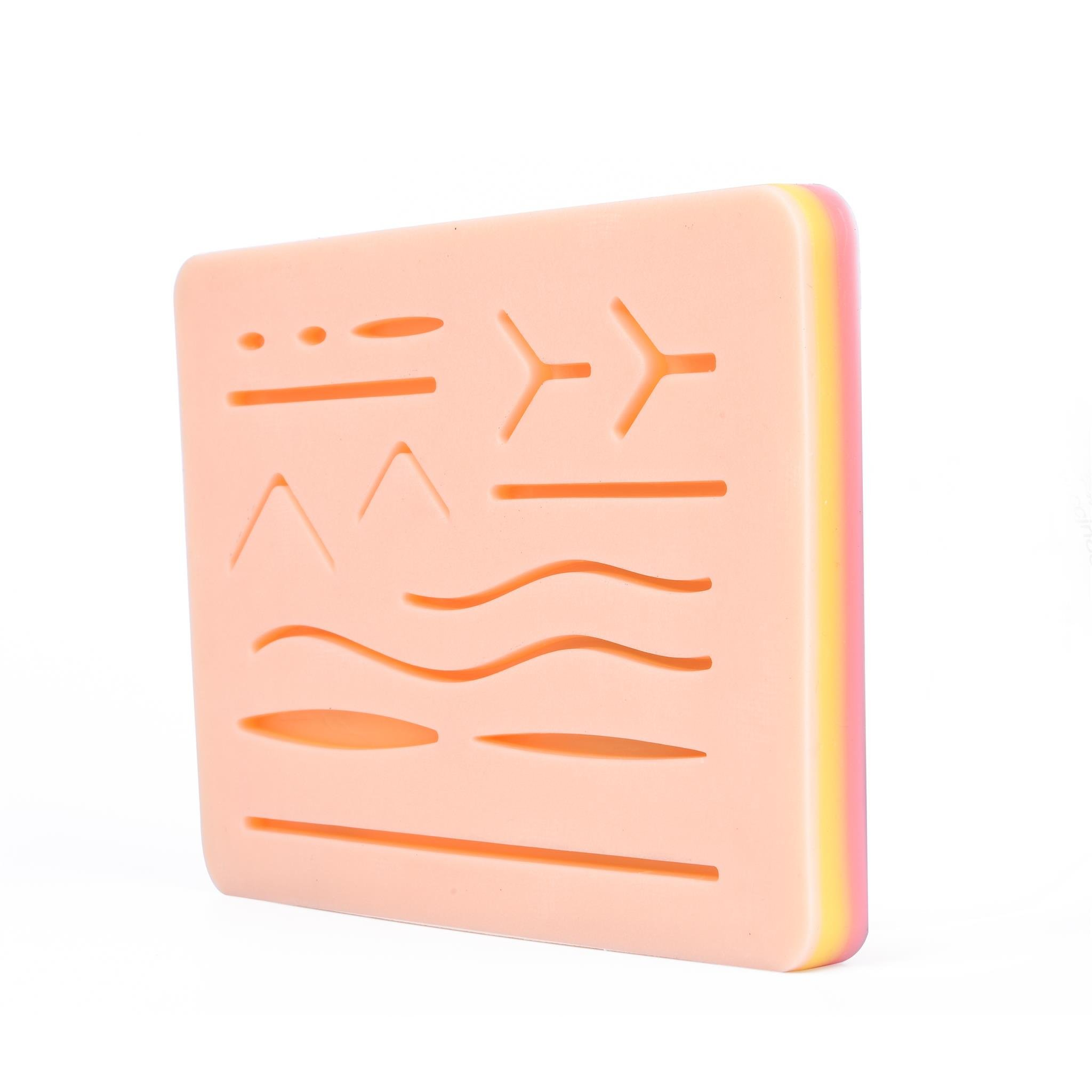 """Suture Training Kit Suture Pad 7"""" x 5"""" for Practice and Training Use
