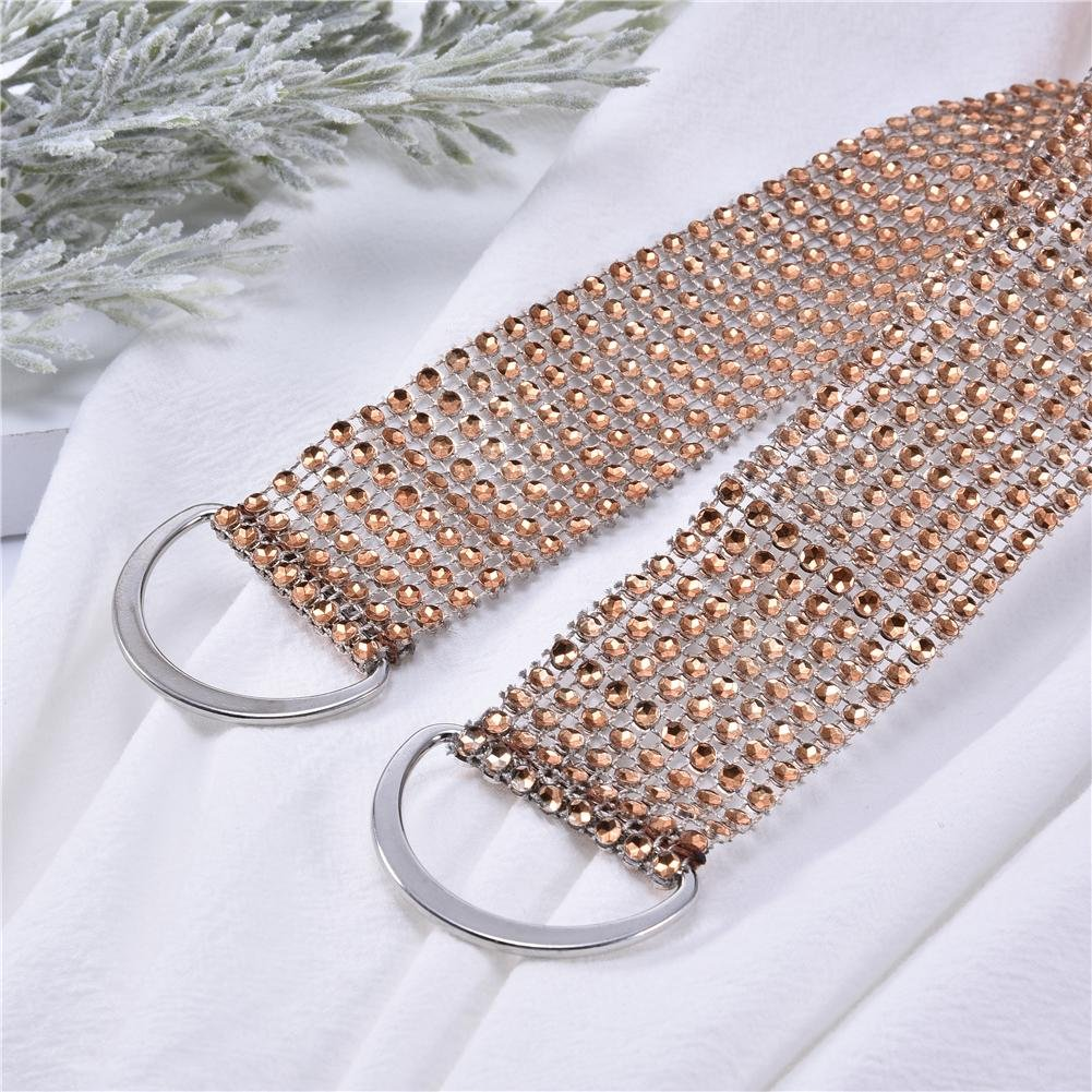 Bloomma Crystal Rideau Dos dos pour rideaux costume pour /épaisses cravates pour salon rideaux