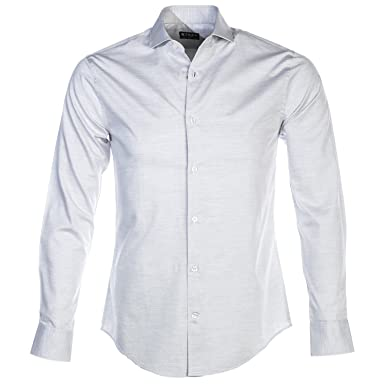 202f15f2091 Tiger Of Sweden Farrell 5 Shirt in Stone Grey 42: Amazon.co.uk: Clothing