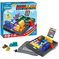 ThinkFun Rush Hour Traffic Jam Logic Game and STEM Toy for Boys and Girls Age 8 and Up – Tons of fun and Bestseller for Over 20 Years