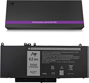 DELL 6MT4T Battery [7.6V/62Wh].AY High-Performance Replacement Laptop Battery Compatible with Dell Latitude E5470 E5570, Fits 6MT4T 7V69Y TXF9M 79VRK 07V69Y