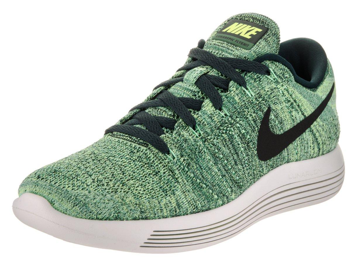 NIKE Men's Lunarepic Low Flyknit Running Shoes B01MF5IUGW 12 D(M) US|Seaweed/Black-ghost Green