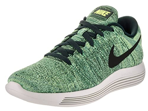4337e86410ee Nike Men s Lunarepic Low Flyknit Seaweed Black Ghost Green Running Shoe 11.  5 Men US  Buy Online at Low Prices in India - Amazon.in
