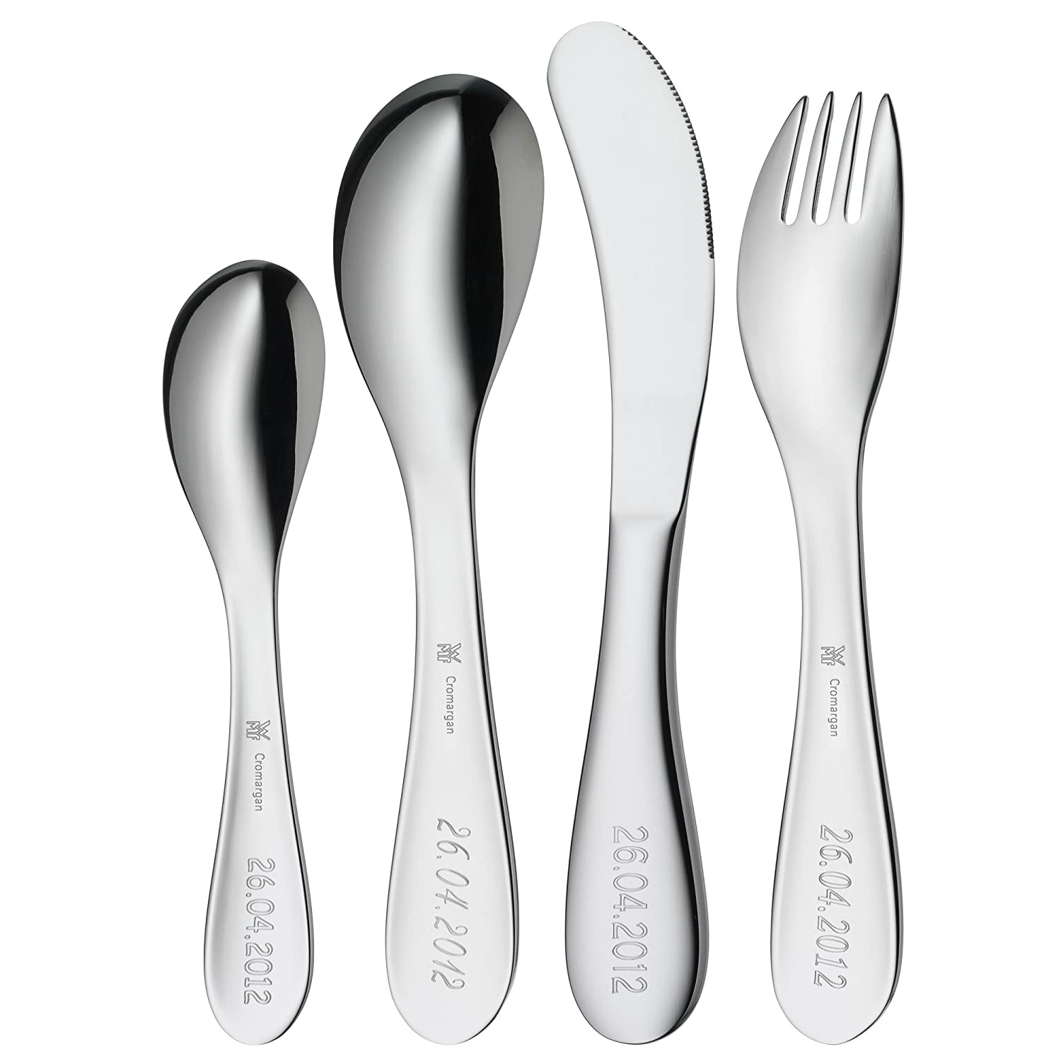Amazon.com | WMF Knuddel Flatware Set 4 pieces: Toys And Games: Serving Sets