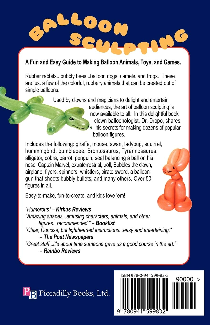 Balloon Sculpting A Fun And Easy Guide To Making Balloon Animals Toys And Games Dropo Dr 9780941599832 Amazon Com Books,Modern High Chair Dining Table