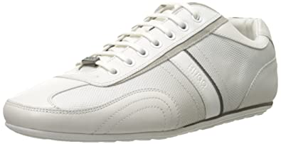 6295f2cbe6 Amazon.com: HUGO Hugo Boss Men's Thatoz Leather Sneaker: Shoes
