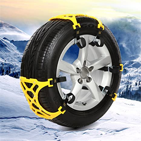 Cadena de TPU gruesa antideslizante para la nieve, cinturón de emergencia para invierno (con