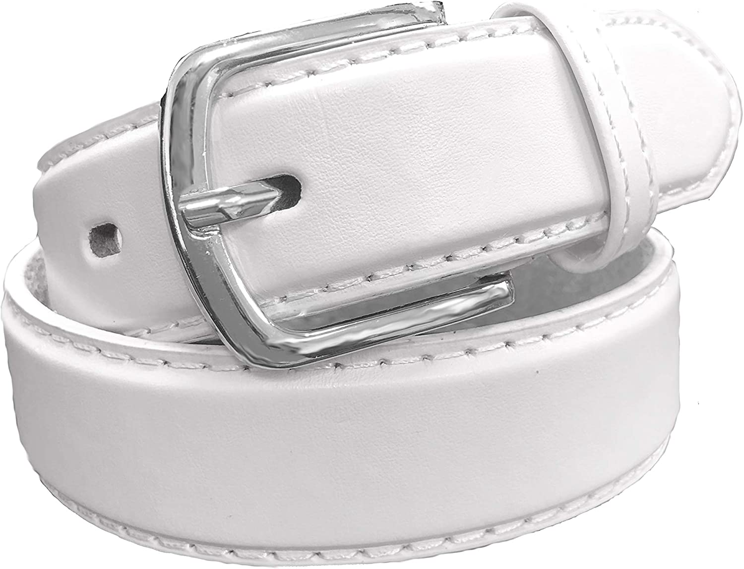 Available from Small to Large Black or Brown #90 Kids Faux Leather 1 Belt