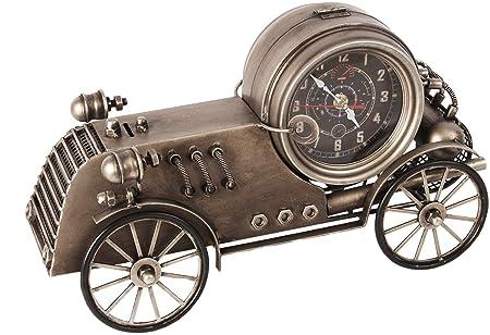 Vintage estilo clásico coche de carreras Metal mesa escritorio ...