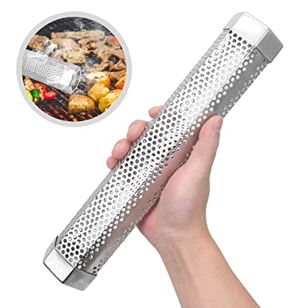Amazon.com: Skinartwork Pellet Smoker Tube, 12 Stainless ...