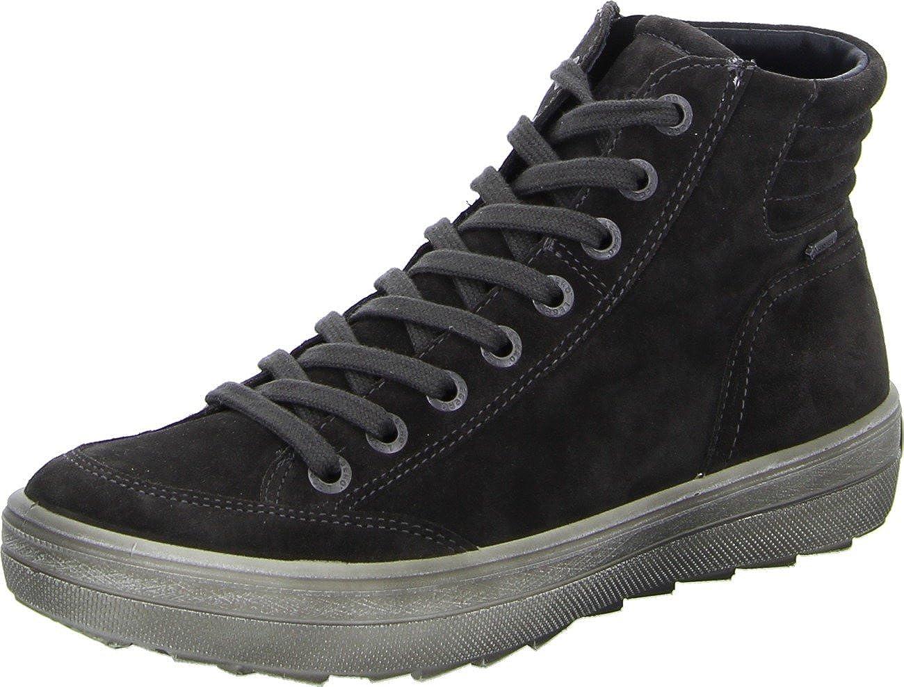 Legero Mira, Baskets Hautes Femme Sneakers Basses Femme - Gris - Stone 37.5 EU LEGERO Schuhfabrik GMBH 7-00630-98