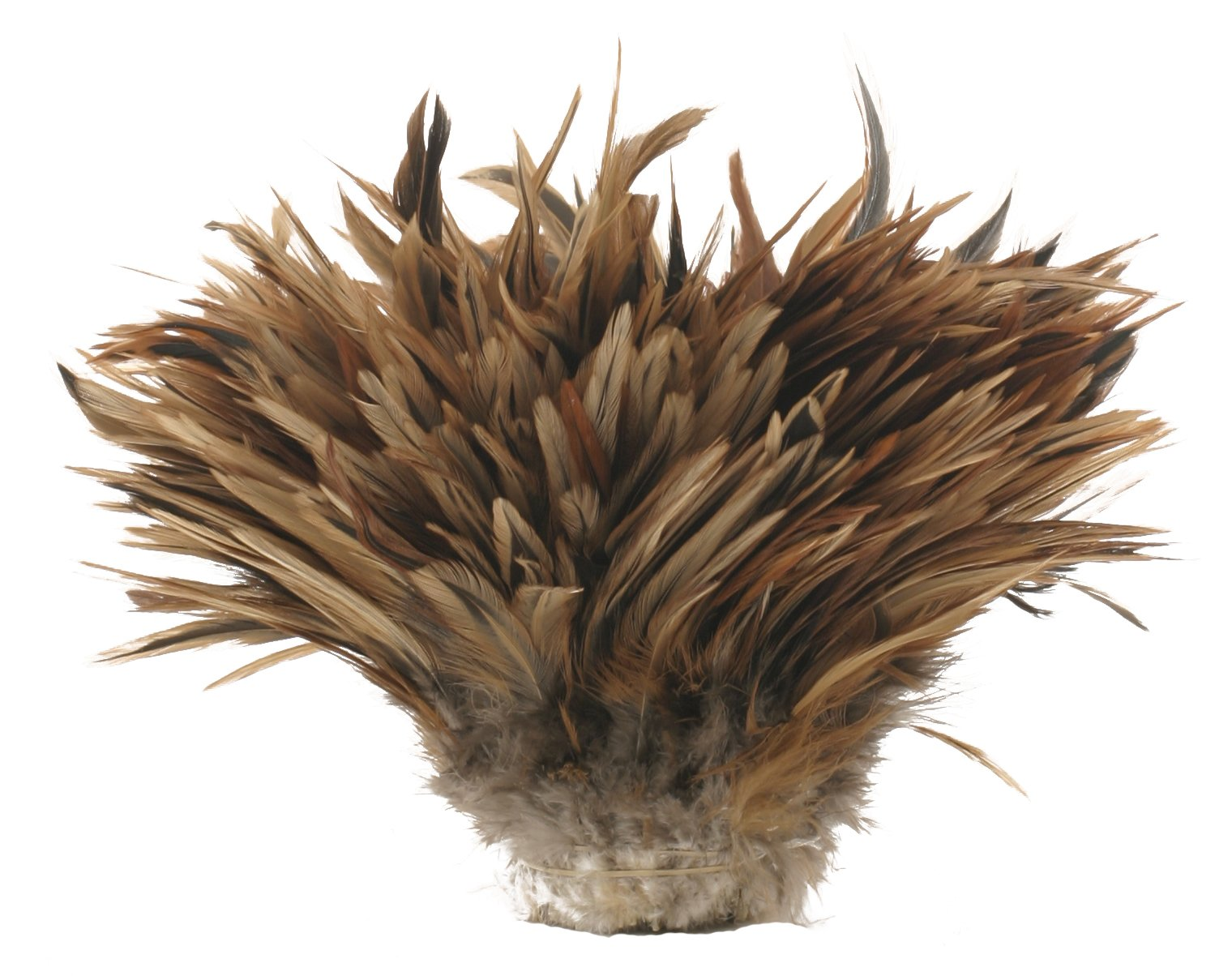Zucker Feather Products Strung Natural Furnace Rooster Saddles, 4 to 6-Inch by Zucker Feather Products