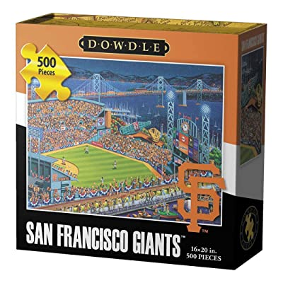 Jigsaw Puzzle - San Francisco Giants 500 Pc By Dowdle Folk Art
